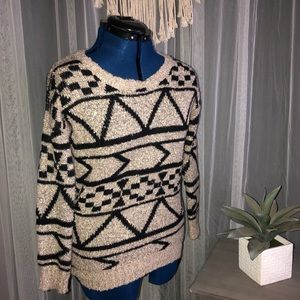 Aztec Sweater - Like New!